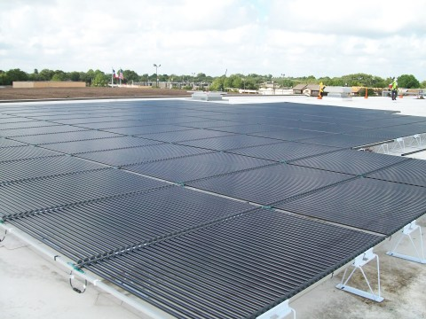 Solar Panel installation in Pasadena, TX.