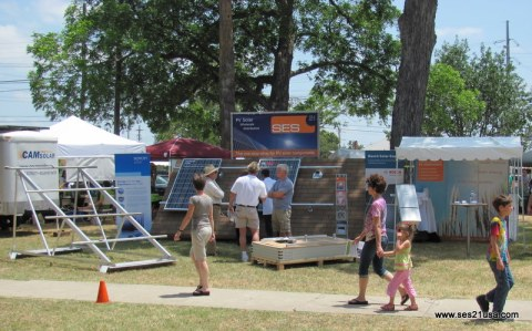 SolarFest San Antonio - SES 21 USA booth